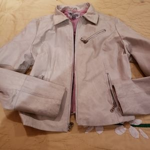 Wilson's Leather Maxima girl Skull leather jacket